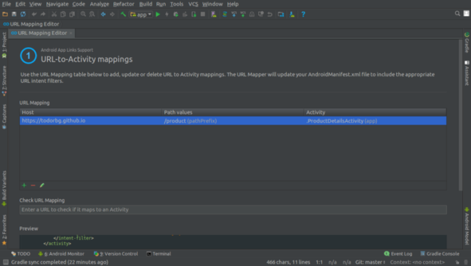 How to use App Links Assistant in Android Studio 2 3 – Spot